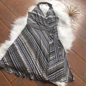 White House Black Market Halter Dress  -Size 0